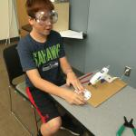 Student inventing