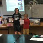 Students present their inventions
