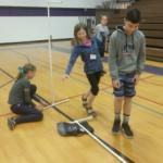 Students invent with PVC pipe