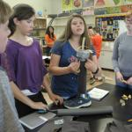 Students design a prosthetic leg.